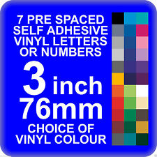 Numbers Custom Made Decorative Plaques & Signs