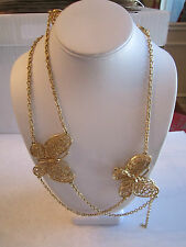 - See Pics - Tub Bba-4 Large Lot Of Costume Necklaces & Chains