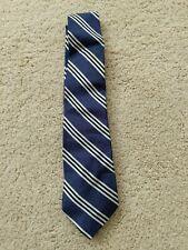 Gap Kids Boys Silk Neck Tie Striped Blue - One Size