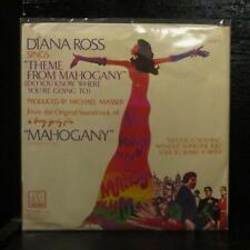 """Diana Ross – Theme From Mahogany Mint- Promo 7"""" Gold Vinyl 45 Motown M 1377F"""
