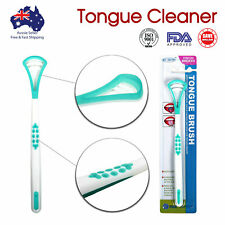 Double Head Tongue Cleaner Oral Care Dental Scraper FDA Approved High Quality