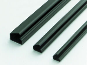 """Kable Kontrol J-Channel Cable Raceway - 48"""" Inches Long - Wire Concealer"""