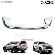 Chrome Tail Gate Fender Under License Fits Mitsubishi Pajero Montero Sport 2016