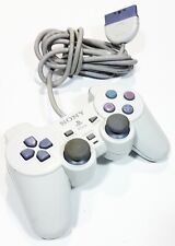 originale SONY Playstation One Dualshock Analogico Controller SCPH-110 bianco