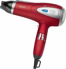 AEG Dryer Hair Professional Ionic 3 Levels Of Temperature 2200W Red New