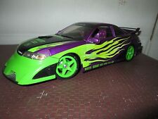 acura custom purple Import Racer 100% hotwheels 1/18 tuner w/ body kit loose