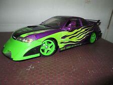 acura custom purple Import Racer 100% hotwheels 1/18 tuner w/ body kit NO BOX