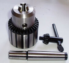 RDGTOOLS 16MM KEYTYPE DRILL CHUCK WITH 2MT DRAW BAR ARBOUR LATHE ENGINEERING