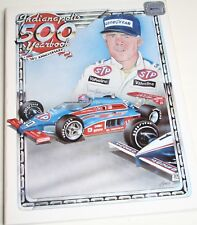 1982 HUNGNESS YEARBOOK INDY 500 INDIANAPOLIS 500 GORDON JOHNCOCK MEARS ANDRETTI