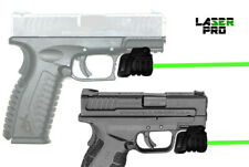 Green Laser Sight for Springfield w/Rails & XD, XDM, Sub-Compact, XD-S XD-E,1911