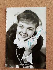 Sabine Sinjen original signierte Autogrammkarte Kolibri Verlag
