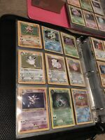 50 Lot PLAYED Original Vintage Rare Pokemon Cards Holo 1st Edition Shadowless