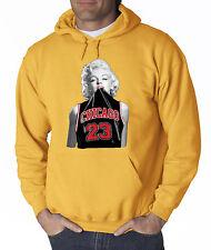 New Way 445 - Hoodie Marilyn Monroe Chicago Bulls Jordan 23 Jersey