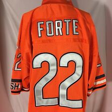 Reebok Authentic Matt Forte Chicago Bears Jersey SZ 52 Alternate NFL Sewn Mens