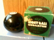 Rhtf Vtg 1973 Avon Eight Ball Decanter Spicy After Shave-New In Box-Free Ship