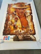 Indiana Jones and the Last Crusade Pepsi Promo 24x36 Single Sided Ss poster
