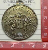 MEDAGLIA, FABBRI 1905, CASA FONDATA NEL, PUBBLICITA, CONFETTURE, RICORDO