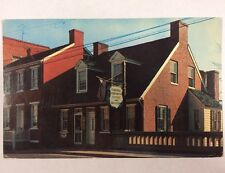Barbara Fritchie House in Frederick, Maryland MD Chrome Postcard Unused