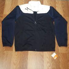 Puma- Mens Esito 3 Tricot Jacket Power Black/Blue/White Size Large