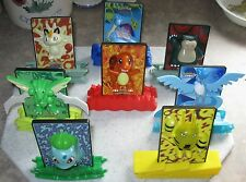 2000 Pokemon Power Burger King Kids Meal Toy Lot of 8 - Articuno Meowth Scyther
