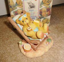 Cherished Teddies Ron 2000 Adoption Center Exclusive #706647 Boy on Beach Chair