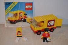 01231 LEGO Town vintage - Mail Truck 6651 + PLAN