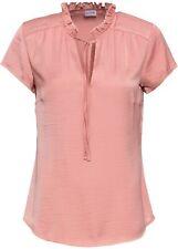 Bluse Gr. 46 Rauchpfirsich Damenbluse Top Shirt Tunika Oberteil Neu