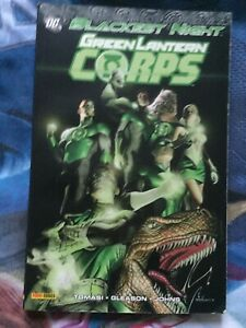 BLACKEST NIGHT GREEN LANTERN CORPS DC COMICS TBE