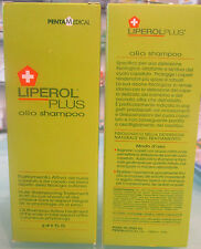 LIPEROL PLUS OIL SHAMPOO at pH 5,5 (150 ml) MOISTURIZES AND SOOTHES THE SCALP