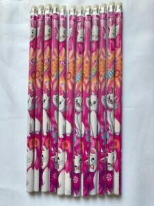 12 Pencil Children Kids Boys Filler Fitter party Loot Gift Bags Cat