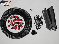 50Ft Diy Micro Drip Irrigation System, 18 Plant, Self Watering garden Hose Kits