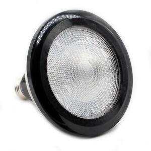 GE 65727 PAR38 DIMMABLE LED BULB, 1550-LUMENS, 3K, WARM-WHITE, 18-WATT, BLACK