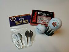 Wilson Golfer's First Aid Kit Top Flite Happy Holidays 2 Balls 9 Tees 2 Way...
