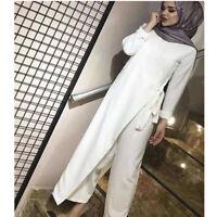 Vintage Women's Jumpsuit Romper Overalls Playsuit Maxi Dress Islamic Party Gown
