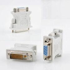 Adapter DVI 24+5 Zu VGA 15-Pin DVI-Buchse Auf VGA-Stecker Konventer DVD Weiß