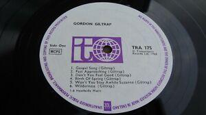 Gordon Giltrap SELF TITLED 1968 UK DEBUT LP Transatlantic 1st Press EX+ LISTEN