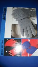 Patons Family Mitts & Gloves Knitting Pattern 8104