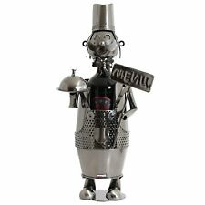 "BRUBAKER Wine Bottle Holder ""Cook"" - Metal Wine Stand"