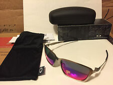 NEW Oakley - Polarized Tincan - Satin Chrome / Positive Red Polarized, OO4082-08