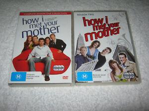 How I Met Your Mother - Season 1 + 2 - VGC - DVD - R4