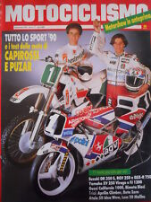 MOTOCICLISMO n°12 1990 Suzuki DR 350 RGV 250 GSX R-750 Yamaha XV 250 [P34]