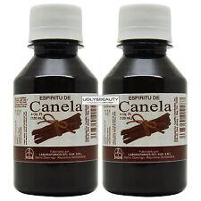 """Espiritu De Canela 4 fl. oz. Cinnamon Oil """"Pack of 2"""""""
