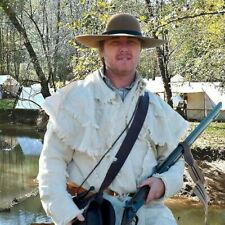Frontier Rifleman Hunting Frock Fustian Cloth Shirt Fur Trade Reenactment