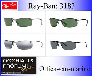 RAY BAN  3183 TIPOLOGIA: -Occhiale completo-Coppia lenti-Coppia Aste-Astuccio