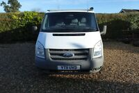 FORD TRANSIT 140 T3300S 4X4 2.4 2011 SWB TOW BAR ROOF RACK 137000 MILES 3 SEATS