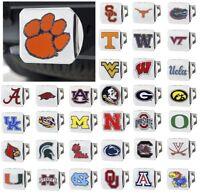 NCAA Teams - Heavy Duty 3-D Color Emblem Chrome Metal Hitch Cover