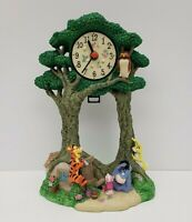 Winnie The Pooh Clock - Mr. Sanders Tigger Piglet - Walt Disney Attractions Inc.