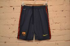 VINTAGE FC BARCELONA HOME FOOTBALL SHORTS 2012/2013 SOCCER NIKE MENS SMALL