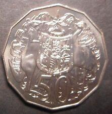Australia 1986   50 cent   Coins    aUNC   Nice
