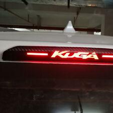 Carbon Fiber Style 3. Bremsleuchte Bremslicht Sticker für Ford Kuga ab 2013
